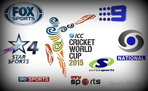 icc world cup knockouts 2015 live streaming telecast tv info. Black Bedroom Furniture Sets. Home Design Ideas