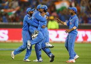 India beat Bangladesh by 109 runs to face PAK-AUS in semis.