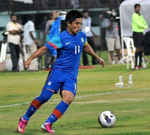 India beats Nepal by 2-0 in round-1 of 2018 FIFA World Cup Qualifiers.