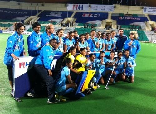 India beats Poland to win Women world hockey league round-2.