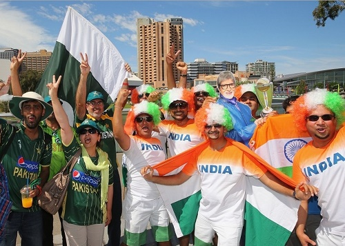 India may face Pakistan in semi-final of 2015 cricket world cup.