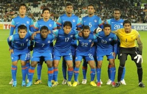 India moves to next round of 2018 FIFA world cup Qualifiers.