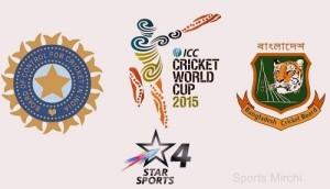 India vs Bangladesh Quarter-Final Live Streaming, Telecast cwc15.