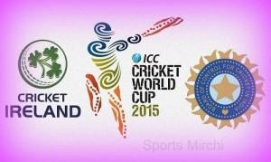 India vs Ireland cricket world cup 2015 match-34 details & info.