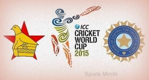 India vs Zimbabwe Live Streaming, telecast, score 2015 world cup.