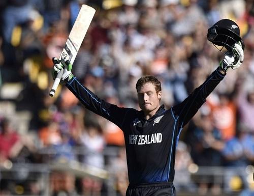 Martin Guptil becomes first Kiwi batsman to score double ton.