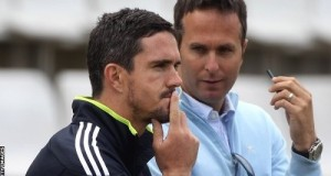 Michael Vaughan asks Pietersen to leave IPL for England