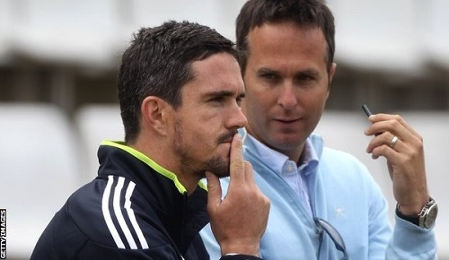 Michael Vaughan asks Pietersen to leave IPL for England.