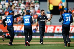 New Zealand beat Afghanistan by 4 wickets in 2015 world cup.