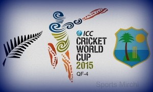 New Zealand vs West Indies Quarter-Final-4 CWC 2015 Preview.