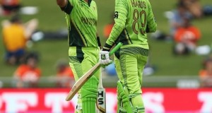 Pakistan crunched UAE by 129 runs in 2015 world cup at Napier