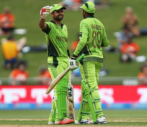 Pakistan beat UAE by 129 runs in 2015 world cup at Napier.