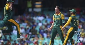 Proteas bowlers destroy Sri-Lanka in QF, Duminy took hat-trick