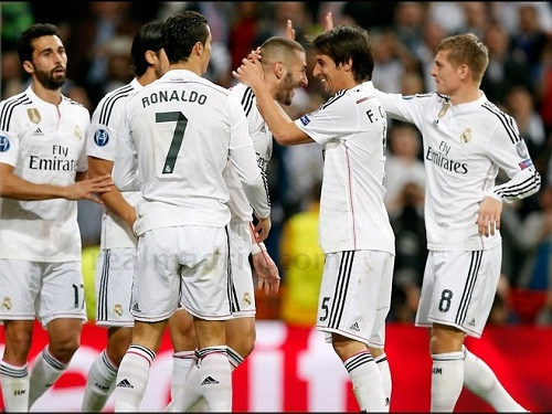Real Madrid qualified quarter-final 5th time in Champions League.