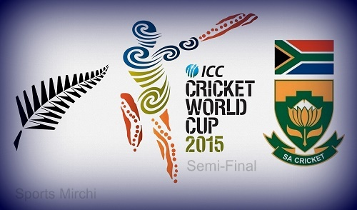 SA vs NZ Semi-Final Live Streaming, Telecast, Score 2015 world cup.