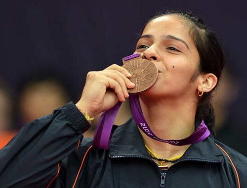 Saina Nehwal becomes first Indian to get world no. 1 rank in women's singles.