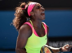Serena beat Sloane, Carla beat Heather in close contest at Indian Wells.