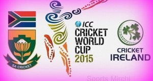 South Africa vs Ireland World Cup 2015 Live Streaming, score, preview