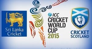 Sri Lanka vs Scotland Live Streaming, telecast, preview cwc15