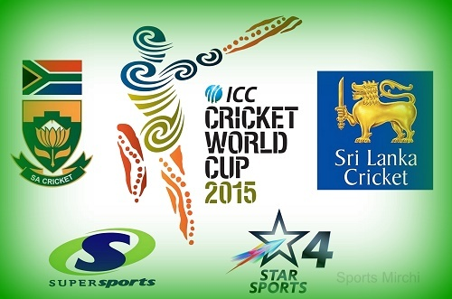 Sri-Lanka vs South Africa Live Streaming, Telecast QF-1 cwc15.