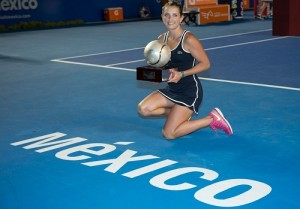 Timea Bacsinszky wins Mexico Open 2015 in just 66 minutes.
