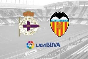 Valencia vs Deportivo La Coruna Live Stream, telecast, preview La-Liga 2014-15.