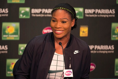 Venus encouraged Serena to return at Indian Wells Masters.