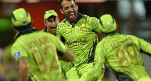 Wahab Riaz shines in Pakistan's First win at world cup 2015