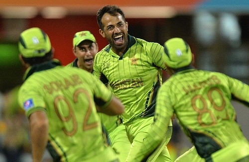Wahab Riaz shines in Pakistan's First win at world cup 2015.