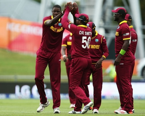 West Indies beat UAE to seal berth in ICC CWC Quarter-Finals 2015.