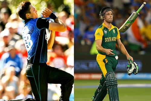 5 Key battles in World Cup 2015 First Semi-Final SA vs NZ.