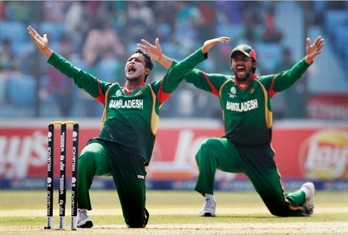 Bangladesh named 1st two ODIs team for Pakistan series 2015.