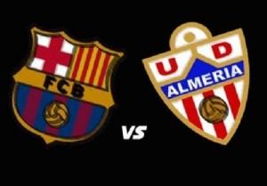 Barcelona vs Almeria Live Streaming, Telecast, Preview 8-4-15.