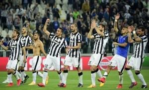 Champions League Quarter-final 1st Leg: Juventus 1-0 Monaco.