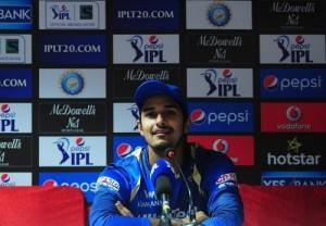 Deepak Hooda help Rajasthan Royals to beat DD in 6th match of IPL 2015.