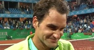 Federer beat Nieminen to reach Istanbul Open Quarter-final