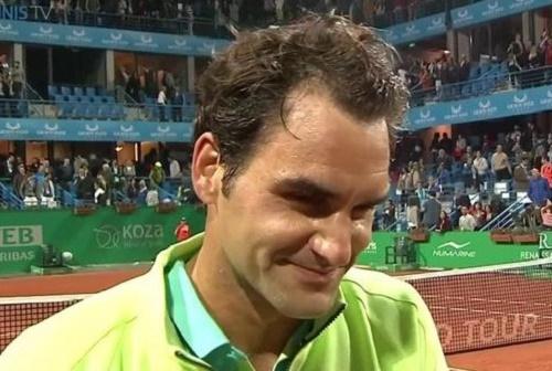 Federer beat Nieminen to reach Istanbul Open Quarter-final.