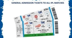 How to buy IPL T20 2015 matches tickets online