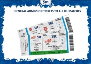 How to buy IPL T20 2015 matches tickets online.