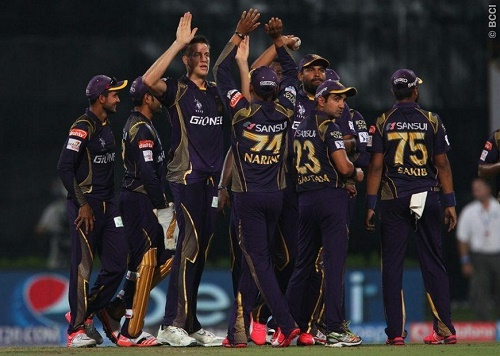 IPL 2015 Defending champs KKR beat MI by 7 wickets in 1st match.