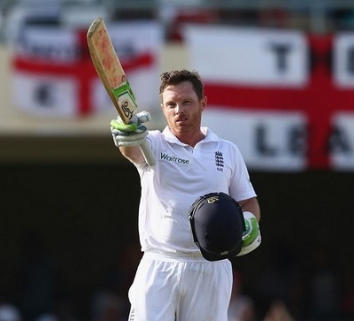 Ian Bell ton help ENG to reach at 341-5 at Day-1 against WI.