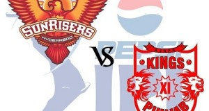 KXIP vs SRH Match-27 Live Streaming, Telecast, Score 2015 IPL