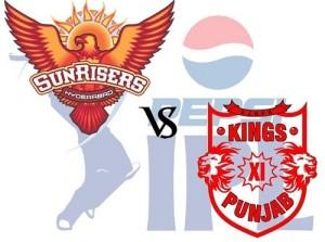 KXIP vs SRH Match-27 Live Streaming, Telecast, Score 2015 IPL.
