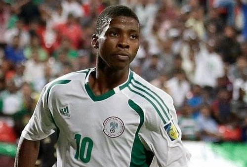 Kelechi Iheanacho to join Nigeria squad for FIFA U20 world cup.