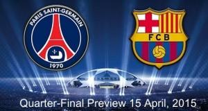PSG vs Barcelona Champions League quarter-final preview