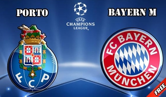 Porto vs Bayern Munich Live Streaming, Telecast and TV Info.