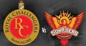 RCB vs SRH Live Streaming, Telecast, Score match-8 IPL 2015