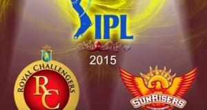 RCB vs SRH match-8 details, preview, predictions IPL 2015