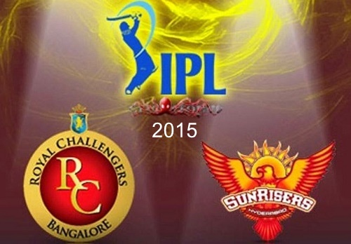 RCB vs SRH match-8 details, preview, predictions IPL 2015.