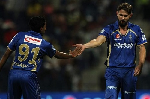 Rajasthan Royals Kane Richardson pulls out from 2015 IPL.